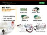 bio rad s electrophoresis equipment