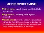 methamphetamines
