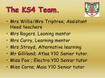 the ks4 team