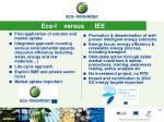 eco i versus iee