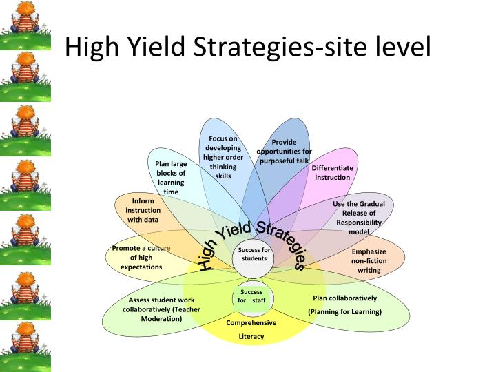 High Yield Strategies-site level