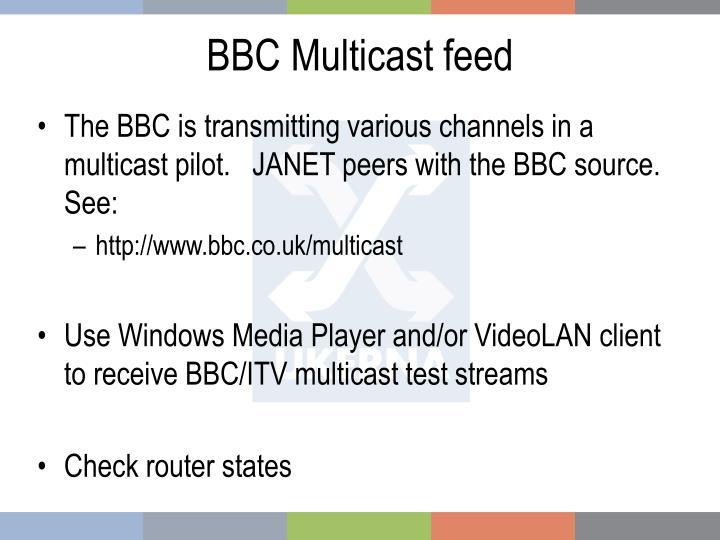 BBC Multicast feed
