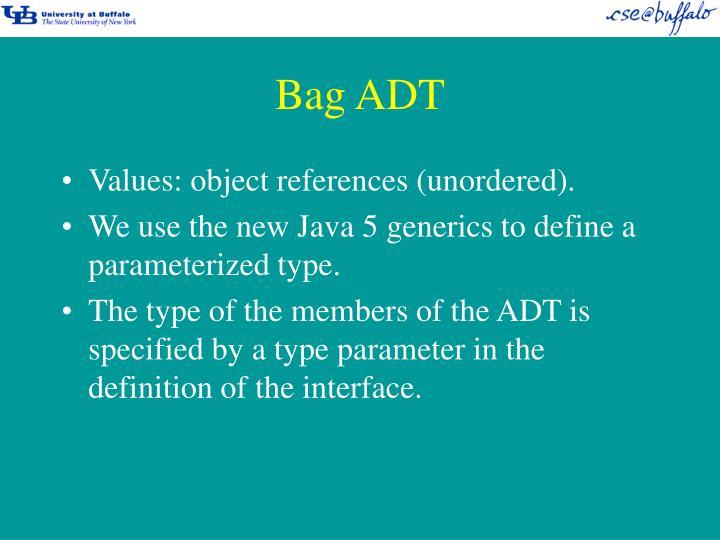 Bag ADT