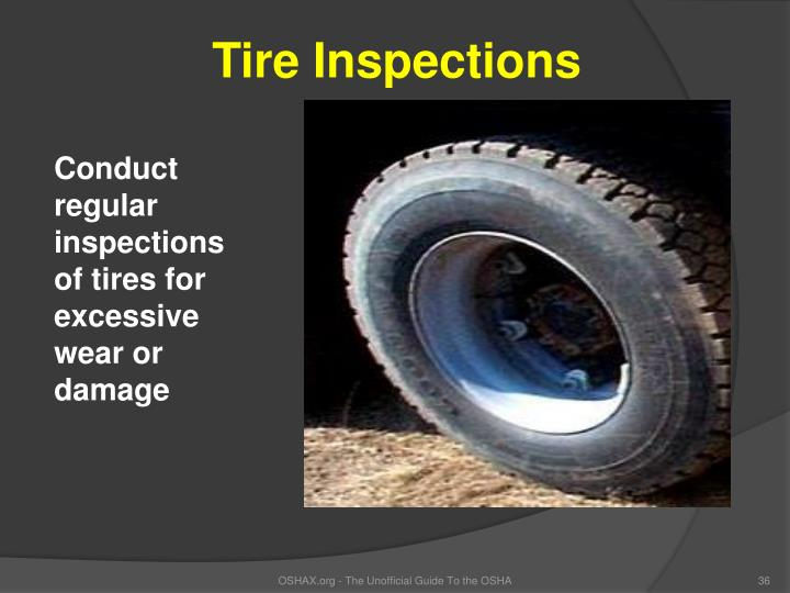 Tire Inspections
