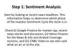 step 1 sentiment analysis