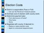 election cost