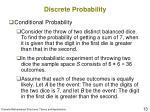 discrete probability9