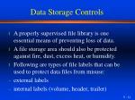 data storage controls1