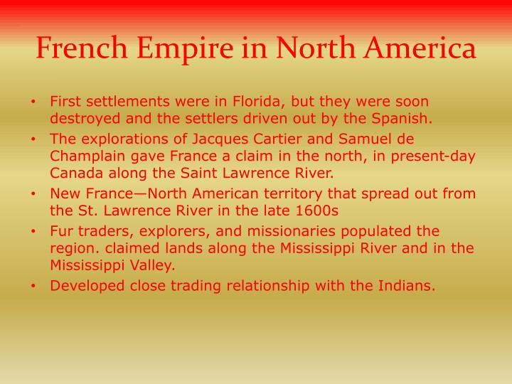 French Empire in North America