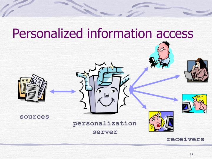 Personalized information access