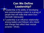 can we define leadership1