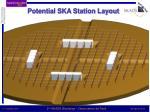 potential ska station layout