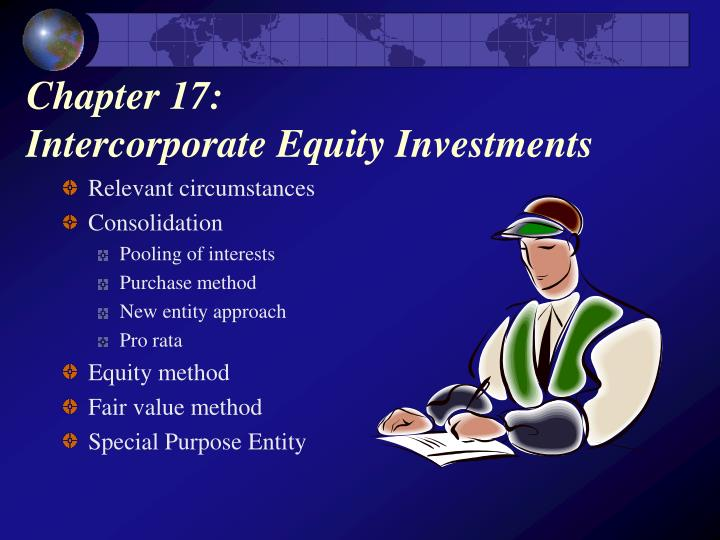 chapter 17 intercorporate equity investments n.