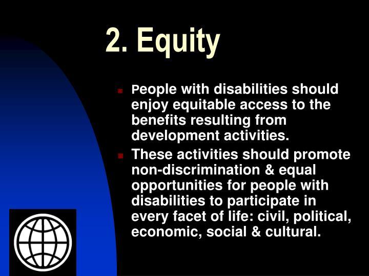 2. Equity