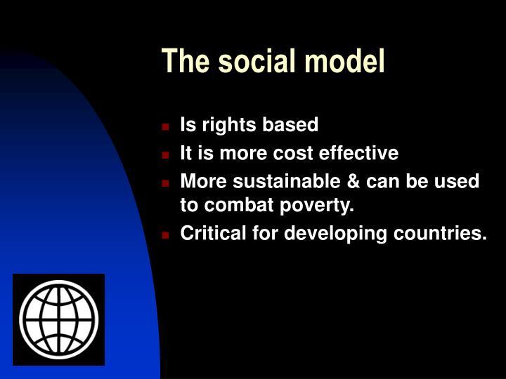The social model