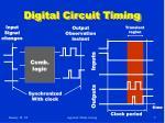 digital circuit timing