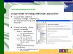 design guide for energy efficient laboratories