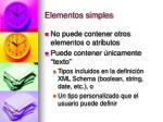 elementos simples