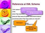 referencia al xml schema