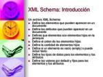 xml schema introducci n