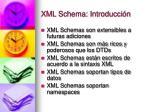 xml schema introducci n1