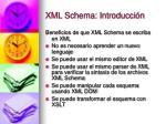 xml schema introducci n3