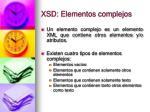 xsd elementos complejos