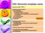 xsd elementos complejos vac os