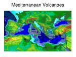 mediterranean volcanoes