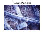 roman plumbing