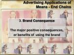 advertising applications of means end chains2