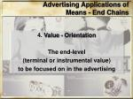 advertising applications of means end chains3