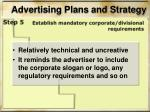 advertising plans and strategy7