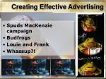 creating effective advertising1
