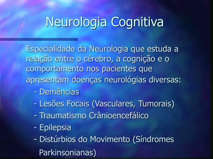 neurologia cognitiva n.