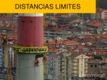 distancias limites