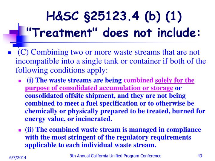 H&SC §25123.4