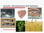 growth development and nutrition