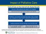 impact of palliative care1