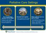 palliative care settings