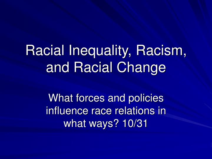 a history of racial discrimination and inequality Inequality and racism rights sites news: racial discrimination in the united states  and lessons for teachers interested in the history of race and racism.