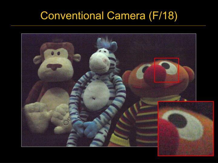 Conventional camera f 18