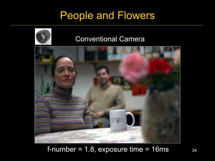 People and Flowers