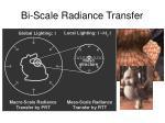 bi scale radiance transfer