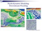 hydrodynamic modeling downstream flooding