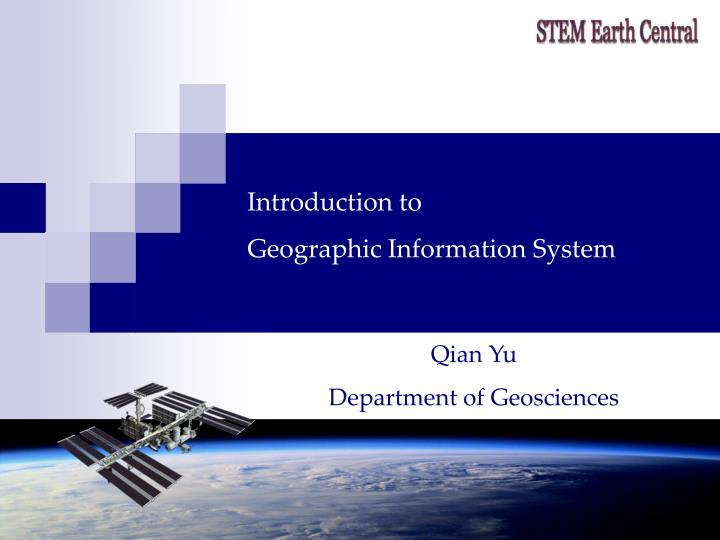 introduction to geographic information system n.