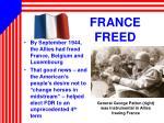france freed