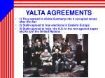 yalta agreements
