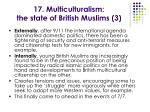 17 multiculturalism the state of british muslims 3