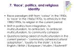 7 race politics and religious identity